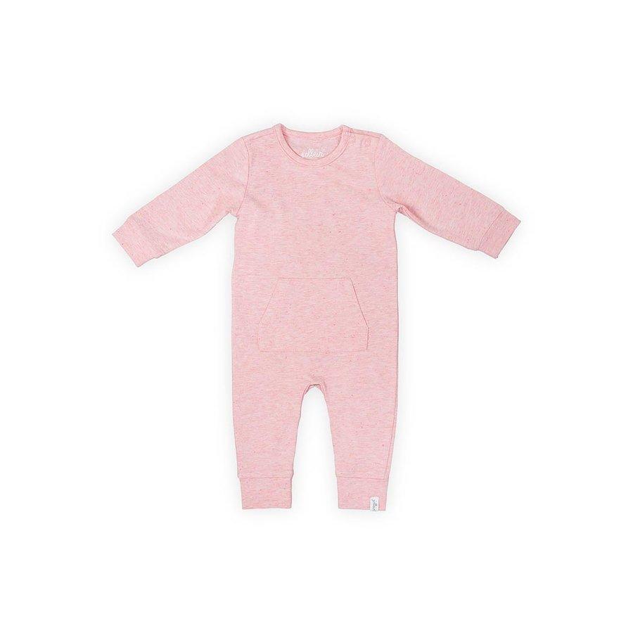 Playsuit Jollein speckled pink-1