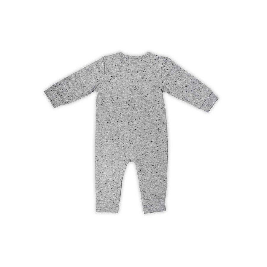 Playsuit Jollein speckled grey-3