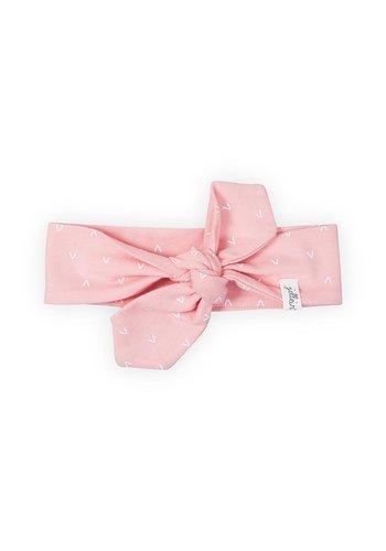 Haarband Jollein hearts (pink)