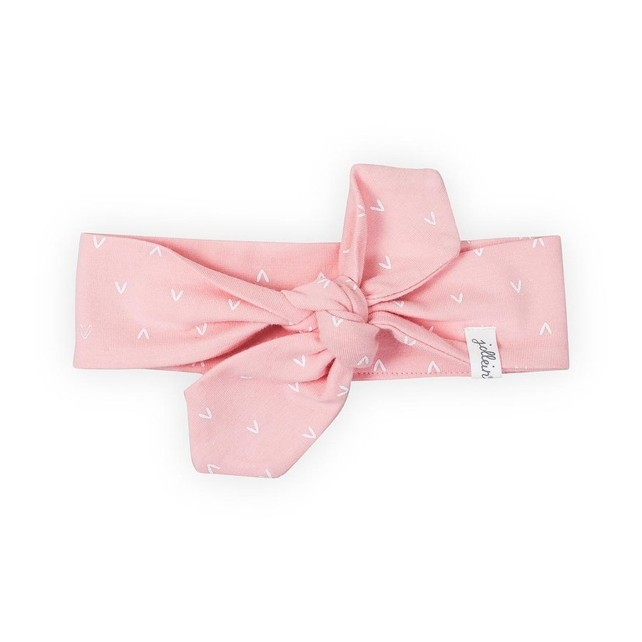 Haarband Jollein hearts (pink)-1