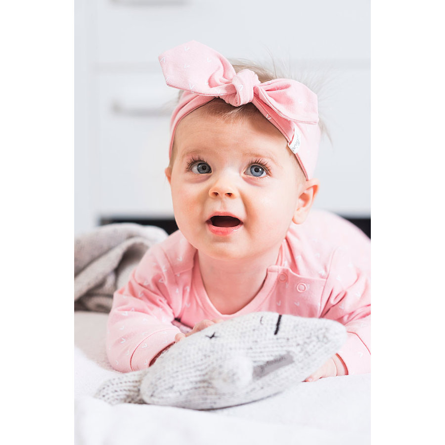 Haarband Jollein hearts (pink)-2