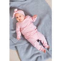 thumb-Haarband Jollein speckled pink-2