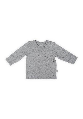 T-shirt Jollein speckled grey
