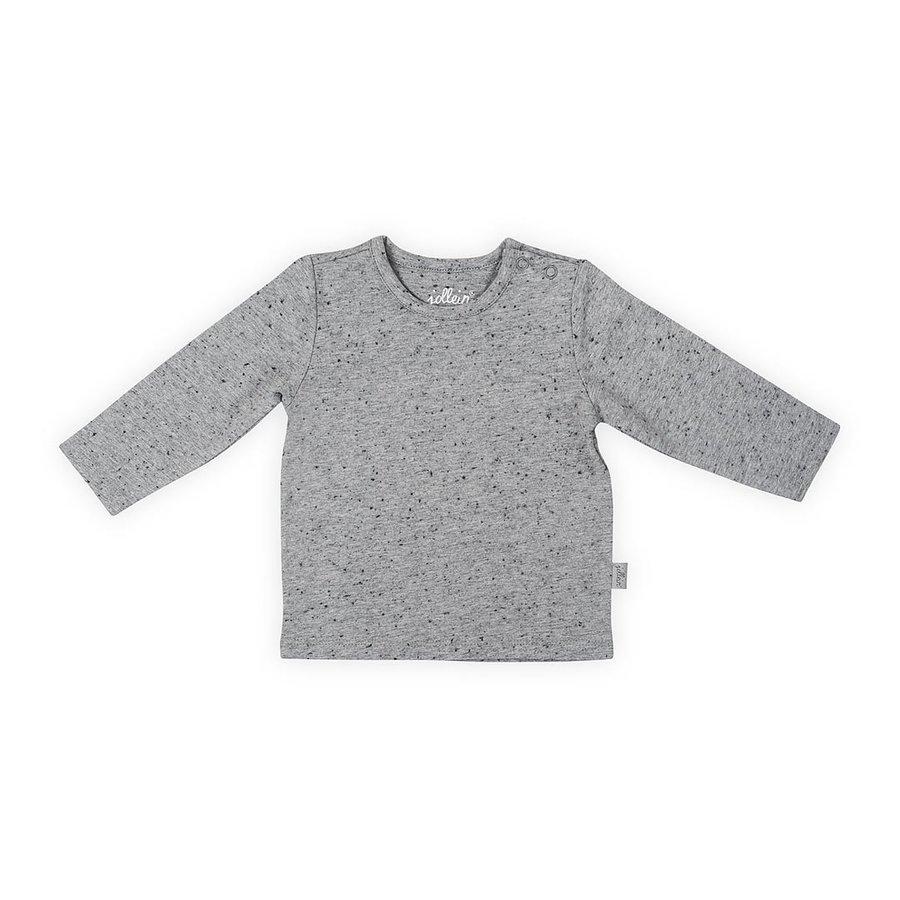 T-shirt Jollein speckled grey-1