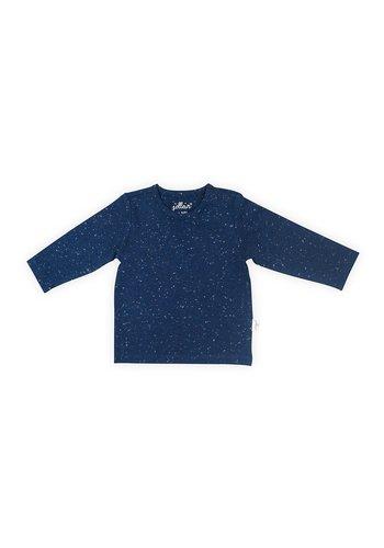 T-shirt Jollein speckled blue