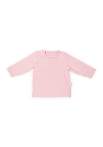 T-shirt Jollein hearts pink