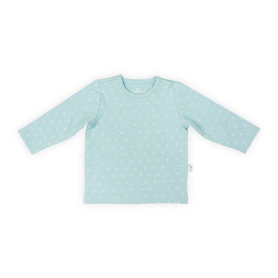 T-shirt Jollein hearts soft green-1