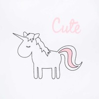 thumb-T-shirt Jollein Unicorn-2