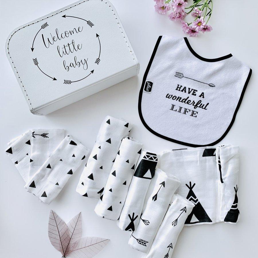 Geschenkbox 'Welcome little baby'-1