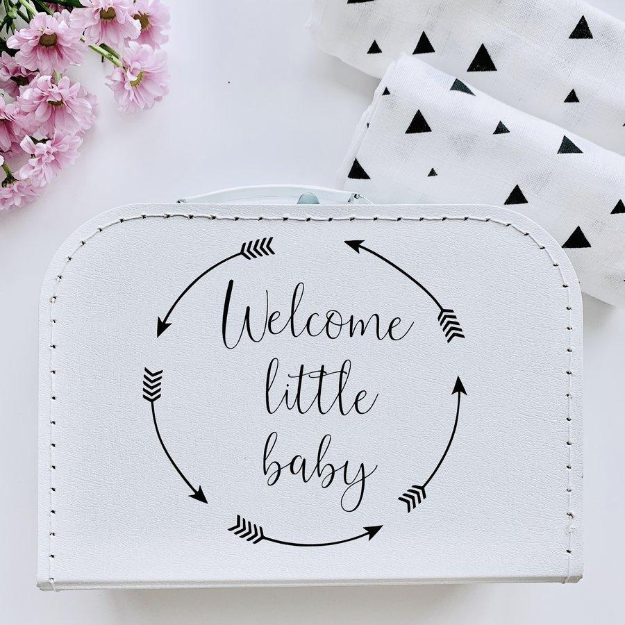 Geschenkbox 'Welcome little baby'-2