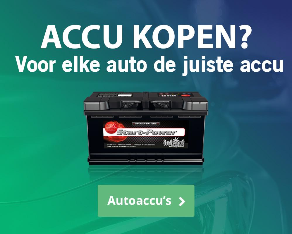 Accu Energie, de juiste accu voor alle soorten toepassing banner 1