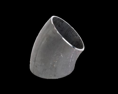Lasbocht, naadloos  - ASME B16.9 - 45° Long Radius (LR) - A420 WPL6