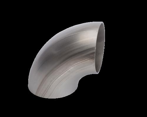 Lasbocht, gelast  EN10253-4/A  - 3D - 90° - 1.4404/ 316L  (dia 204 tem 606 mm)