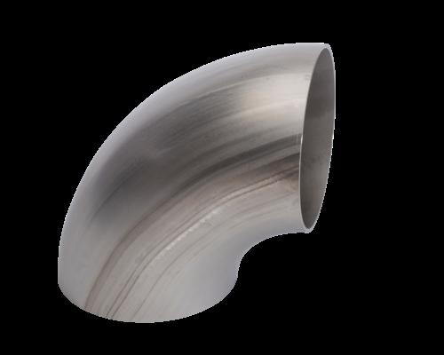 Lasbocht, gelast  EN10253-4/A  - 3D - 90° - 1.4307/ 304L  (dia 17,2 tem 168,3 mm)