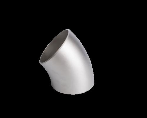 Lasbocht, gelast - LR (long radius) - 45° - A403 WP316/316L - ASME B16.9