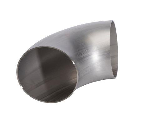 Lasbocht, naadloos - LR (long radius) - 90° - A403 WP304/304L - ASME B16.9