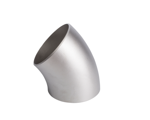 Elbow, welded - LR (long radius) - 45° - A403 WP304/304L - ASME B16.9