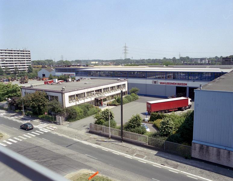 Van Leeuwen Buizen Vilvoorde België Belgium aerial view warehouse luchtfoto magazijn