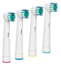 4 Opzetborstels voor Oral-B ®