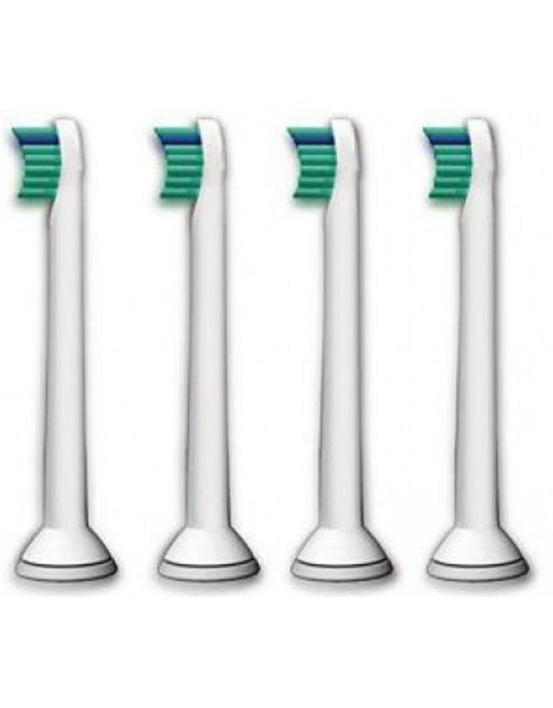 4 Mini opzetborstels voor de Philips Sonicare  (gratis verzending)