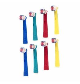 8 Opzetborstels voor kinderen voor Oral-B