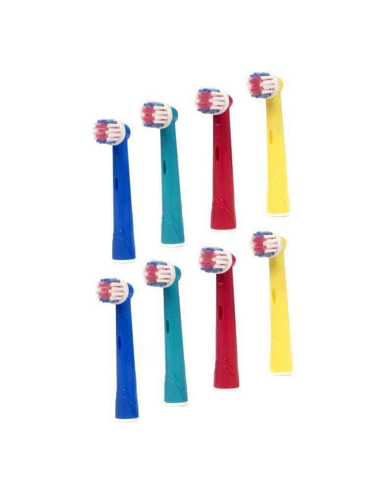 8 Opzetborstels voor Kinderen voor Oral-B  (gratis verzending)