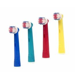 4 Opzetborstels voor kinderen voor Oral-B