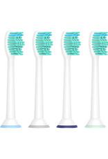 4 Opzetborstels voor elektrische tandenborstels van Philips Sonicare  (incl verzendkosten)