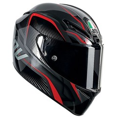 GT - Veloce E2205 MULTI PLK TXT BLACK/GUNMETAL/RED