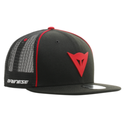 9FIFTY TRUCKER SNAPBACK CAP BLACK/RED