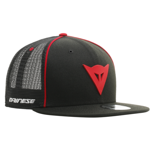 DAINESE 9FIFTY TRUCKER SNAPBACK CAP BLACK/RED
