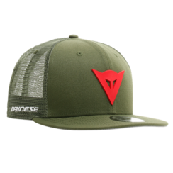 9FIFTY TRUCKER SNAPBACK CAP GREEN/RED