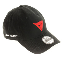 9TWENTY CANVAS STRAPBACK CAP BLACK