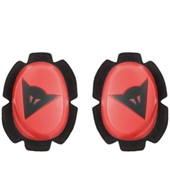 PISTA KNEE SLIDER FLUO-RED/BLACK