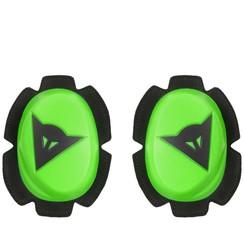 PISTA KNEE SLIDER FLUO-GREEN/BLACK