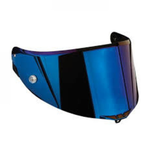 AGV VISOR RACE 3 AS - IRIDIUM BLUE