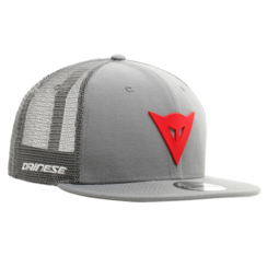 9FIFTY TRUCKER SNAPBACK CAP GREY/RED