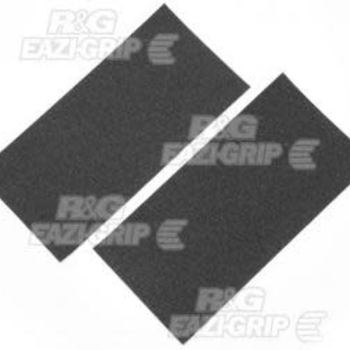 R&G 2 x TRACTION GRIPS SHEETS CLEAR - 305 x 155 mm