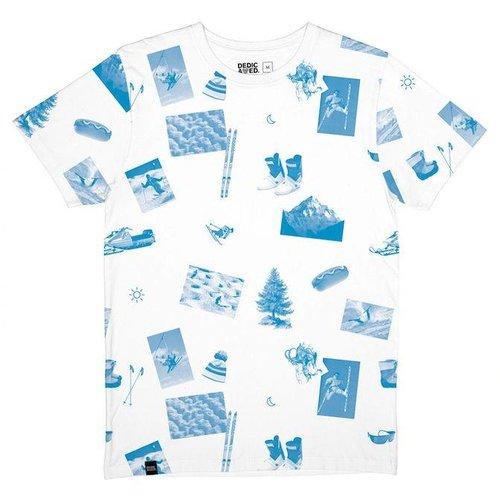 Dedicated Stockholm T-Shirt Ski Collage