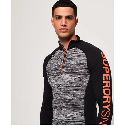 Superdry Carbon Baselayer 1/2 Zip Top
