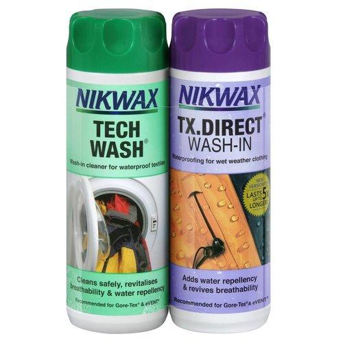 Nikwax Twin Pack Tech wash/ TX- Direct
