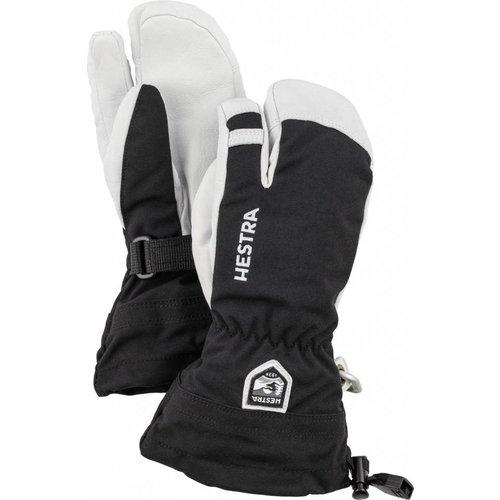 Hestra Army Leather Heli Ski Jr   3 Finger