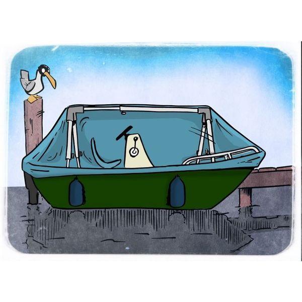Sail Tensioner Support Frame