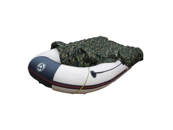 Rubberboothoes Camo Afdekzeil 200D