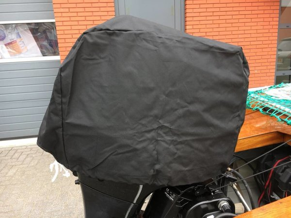 Buitenboordmotor Afdekhoes 600D Zwart