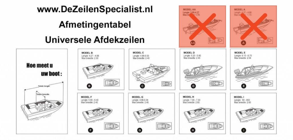 speedboot boothoes 600D longlife boothoezen