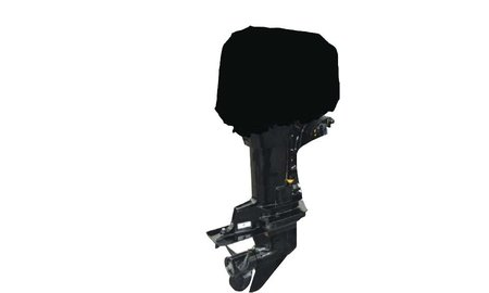 Buitenboordmotor Buitenboordmotor Afdekhoes 600D Zwart
