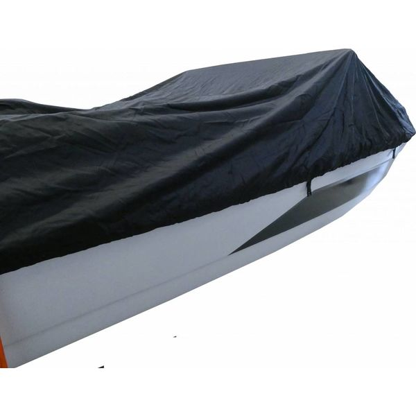 Boat Cover 600D Black Long Life