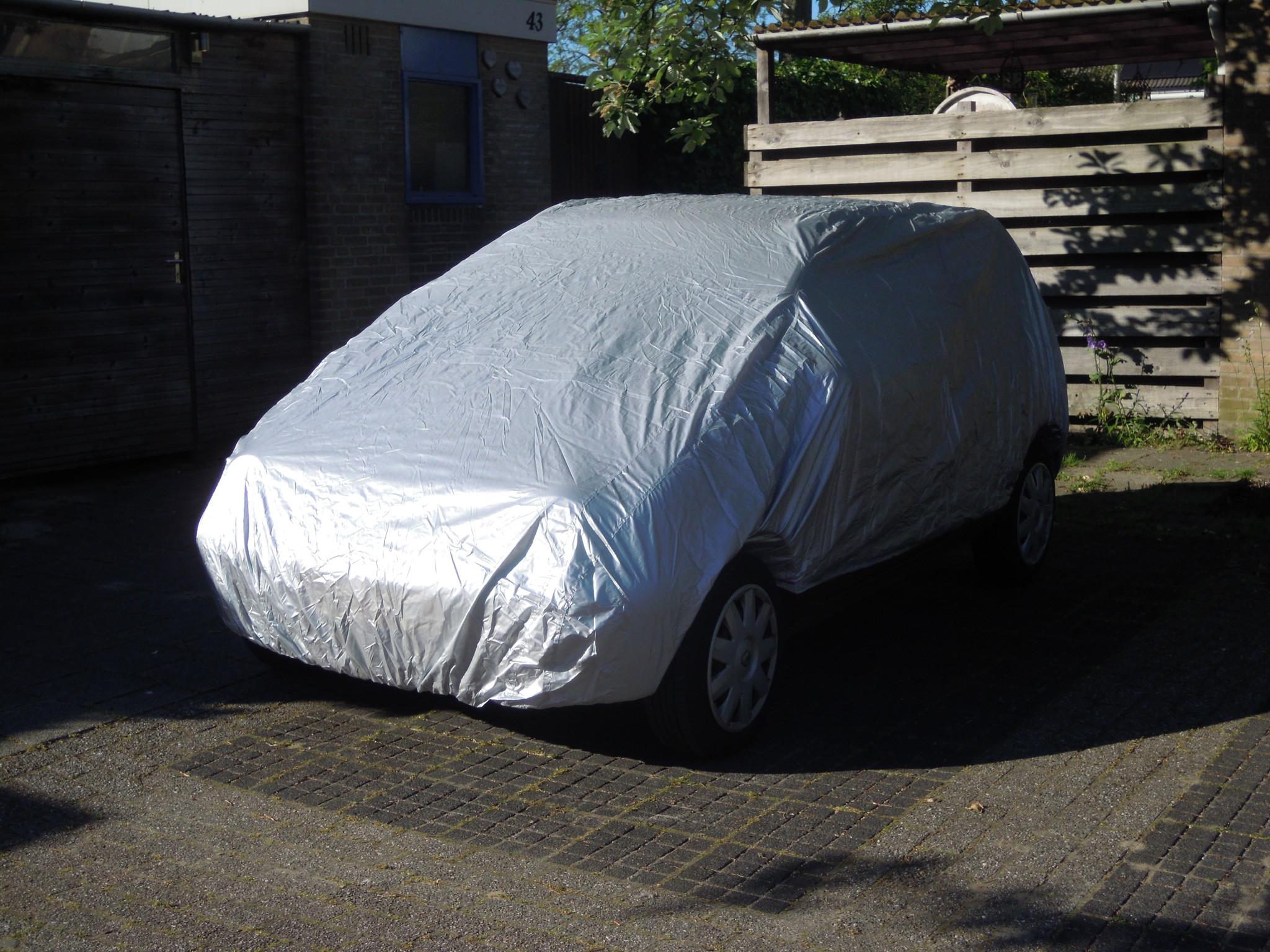 autohoes stof en vuil maat smal