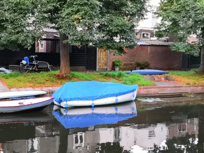 Bootzeil  Afdekzeil 600D Luxe Blauw Kajuitboot